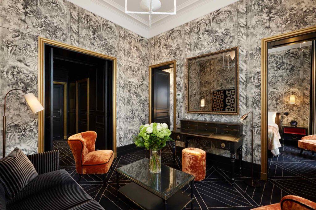 luxury hotels in paris